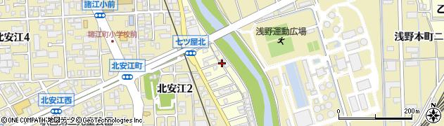 石川県金沢市七ツ屋町(甲)周辺の地図