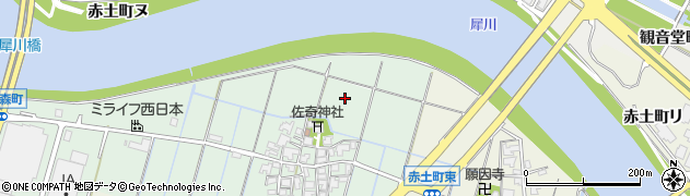 石川県金沢市佐奇森町(ホ)周辺の地図