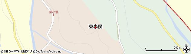 富山県富山市東小俣周辺の地図