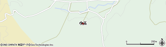 茨城県常陸大宮市小玉周辺の地図