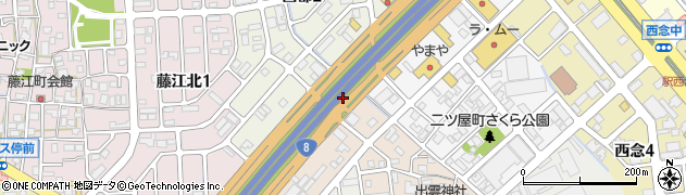 石川県金沢市二宮町(イ)周辺の地図