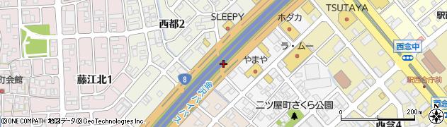 石川県金沢市北町(丙)周辺の地図