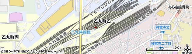 石川県金沢市乙丸町(乙)周辺の地図