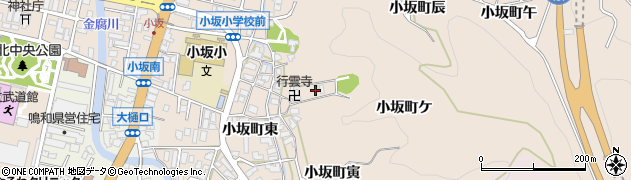 石川県金沢市小坂町(卯)周辺の地図