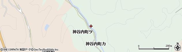 石川県金沢市神谷内町(カ)周辺の地図
