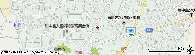 長野県長野市川中島町原周辺の地図