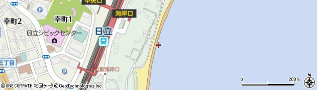 日立バイパス周辺の地図