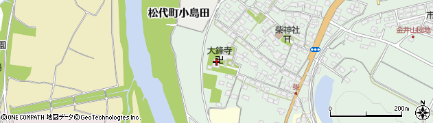 大鋒寺周辺の地図