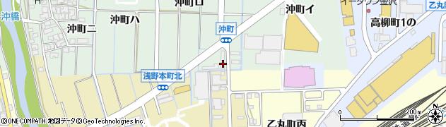 石川県金沢市沖町(ロ)周辺の地図