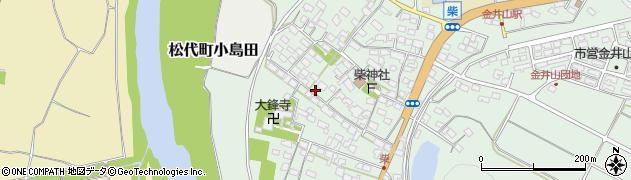 長野県長野市松代町柴周辺の地図