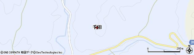 茨城県常陸大宮市千田周辺の地図