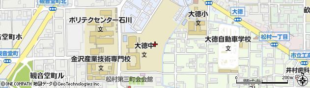 石川県金沢市観音堂町(ト)周辺の地図
