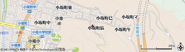 石川県金沢市小坂町(辰)周辺の地図