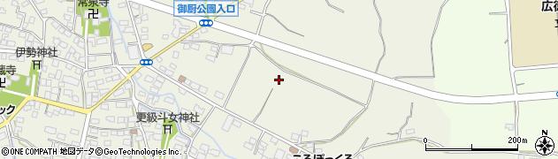 長野県長野市川中島町御厨周辺の地図