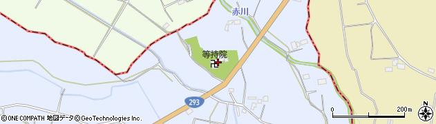 等持院周辺の地図