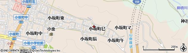 石川県金沢市小坂町(巳)周辺の地図