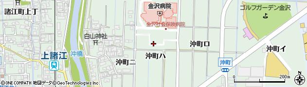 石川県金沢市沖町(ハ)周辺の地図