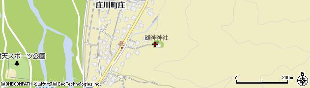 雄神神社周辺の地図