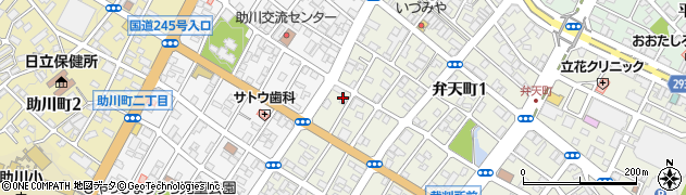 読売新聞社日立支局周辺の地図
