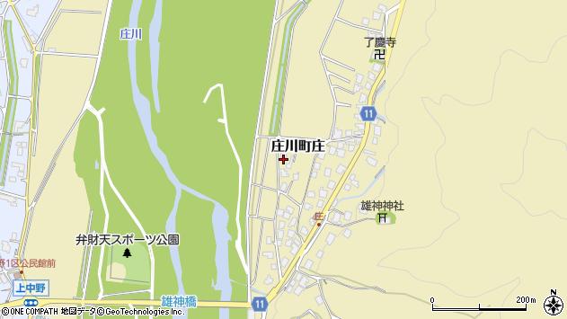 〒932-0302 富山県砺波市庄川町庄の地図