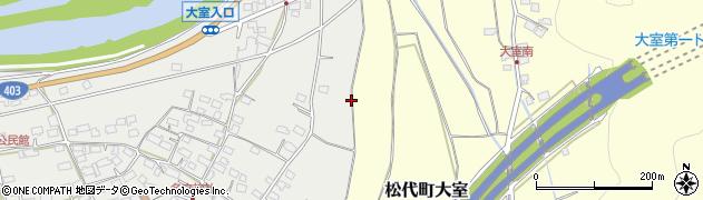 長野県長野市松代町牧島周辺の地図