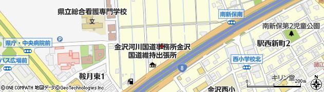 石川県金沢市南新保町(ト)周辺の地図