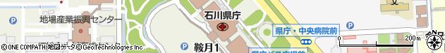 石川県周辺の地図