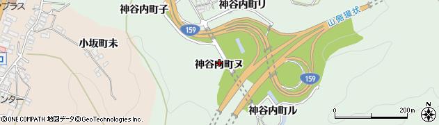 石川県金沢市神谷内町(ヌ)周辺の地図