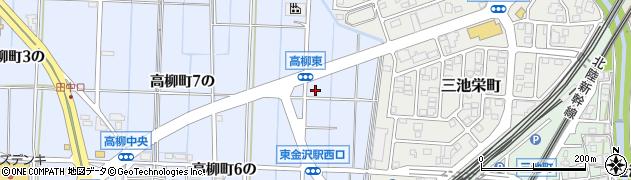 石川県金沢市高柳町(11の)周辺の地図