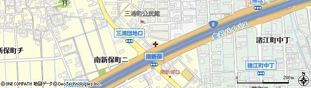 石川県金沢市南新保町(ハ)周辺の地図