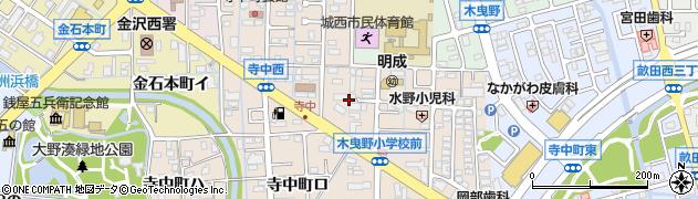 石川県金沢市寺中町(ホ)周辺の地図