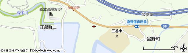 石川県金沢市宮野町(チ)周辺の地図