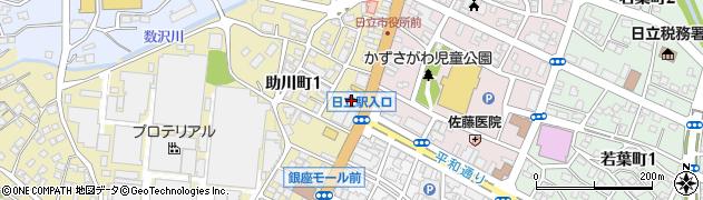 東大進学会日立本部周辺の地図