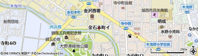 石川県金沢市金石本町(イ)周辺の地図