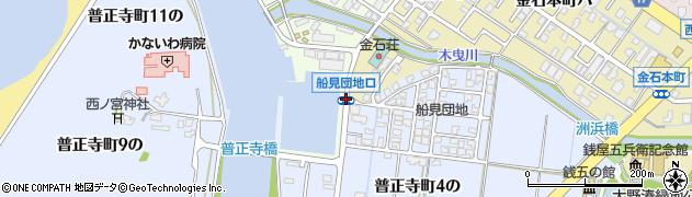 船見団地口周辺の地図