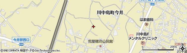長野県長野市川中島町今井周辺の地図