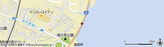 滝の上川高架橋周辺の地図