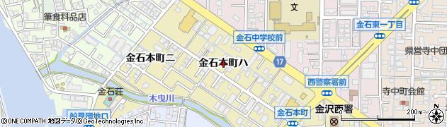 石川県金沢市金石本町(ハ)周辺の地図