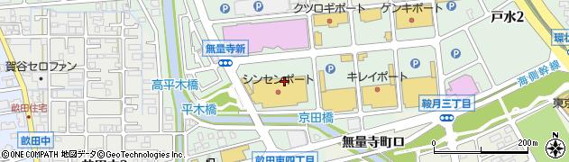 石川県金沢市無量寺町(イ)周辺の地図