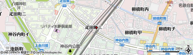石川県金沢市疋田町(ニ)周辺の地図