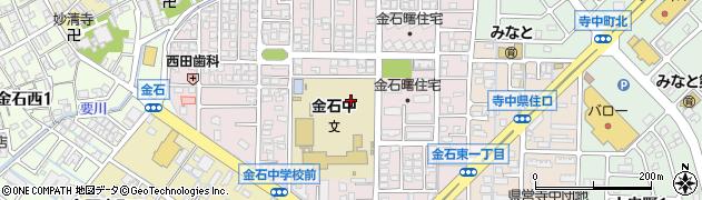 石川県金沢市金石東周辺の地図