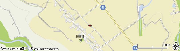 富山県富山市大山上野周辺の地図