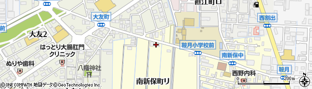 石川県金沢市南新保町(リ)周辺の地図