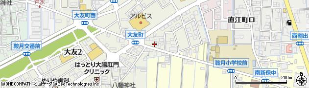 石川県金沢市大友町(ニ)周辺の地図