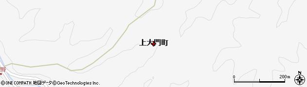 茨城県常陸太田市上大門町周辺の地図
