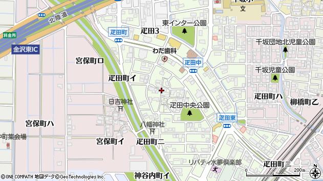〒920-0003 石川県金沢市疋田の地図