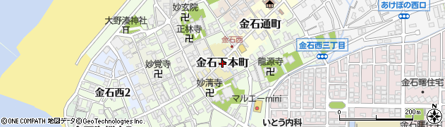 石川県金沢市金石下本町周辺の地図