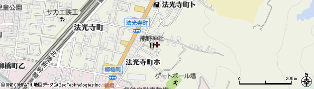 石川県金沢市法光寺町(ト)周辺の地図