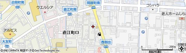 石川県金沢市直江町(イ)周辺の地図