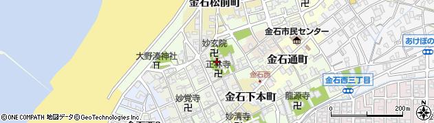 専長寺周辺の地図